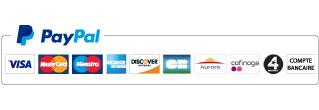Logo paypal moyens paiement fr